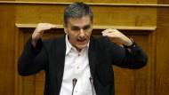 Griechischer Finanzminister wirbt um Reform-Zustimmung