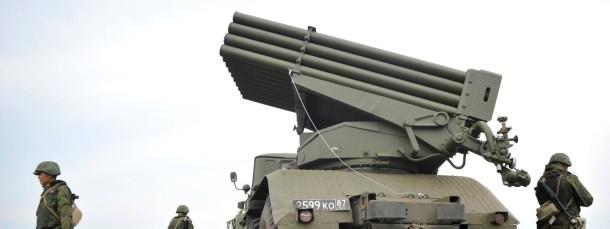 Russisches Militär bei einem Manöver in der Kemerovo Region (Ende Juni 2014)