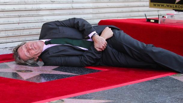 Hugh Laurie erhält Stern auf dem Walk auf Fame