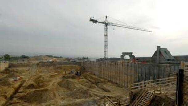 Steinbergkellerei wird auf Pump gebaut