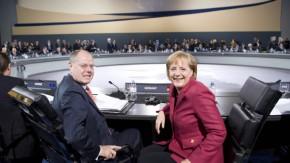 Angela Merkel, Peer Steinbrueck