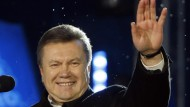 Gewann den ersten Wahlgang nach den Prognosen deutlich: Viktor Janukowitsch