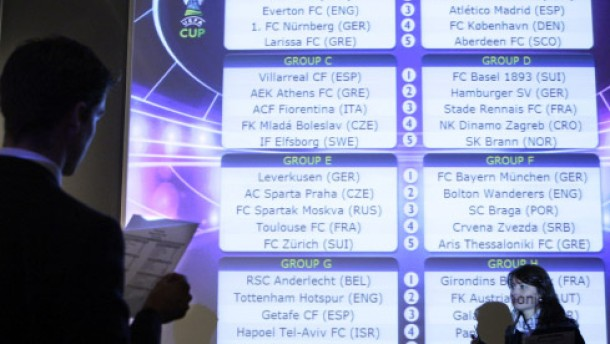 Bayern gegen Bolton, Braga, Belgrad und Saloniki