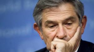 Paul Wolfowitz taumelt