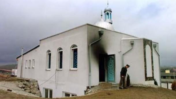 Feuer in Usinger Moschee - LKA zieht Ermittlungen an sich