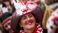 Kölner Jecken feiern Karnevalsauftakt