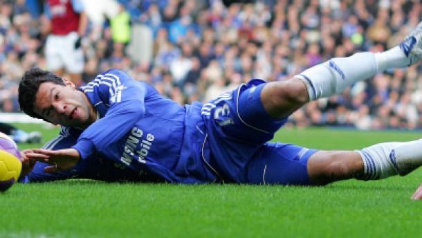 Ballack im Glück, Chelsea im Pech