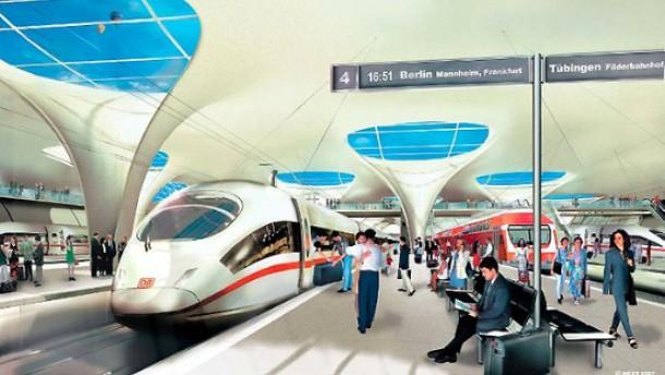 Gesamtprojekt Stuttgart 21 wird teurer als geplant