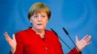 Merkel weist AfD-Zweifel an Grundgesetz-Treue des Islams zurück
