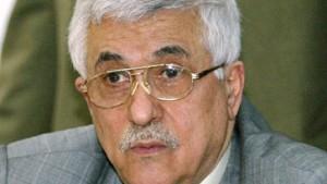 Abbas: Israel soll Vorbehalt gegen Friedensplan aufgeben