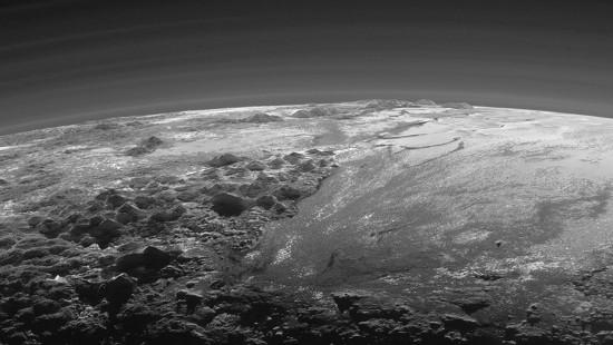 Neue Aufnahmen des Planeten Pluto