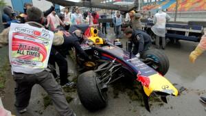 Vettel über dem Limit