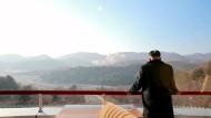 Nordkorea zeigt Aufnahmen von Raketenstart