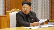 Kim Jong-un erklärt dem Süden den Quasi-Krieg