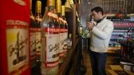 Russische Soldaten lösen Wodka-Boom in Syrien aus