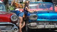 Havanna stöhnt unter amerikanischen Touristen