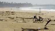 Nach dem Seebeben 2004: Trauer und Verluste im Süden Sri Lankas
