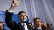 Keine klare Mehrheit in Kroatien