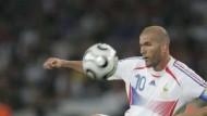 Zauberer Zidane hält die Zeit an