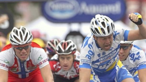 Este Kirsipuu gewinnt erste Etappe - Erkältung bremst Jan Ullrich