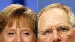 Merkel steht zu Schäuble