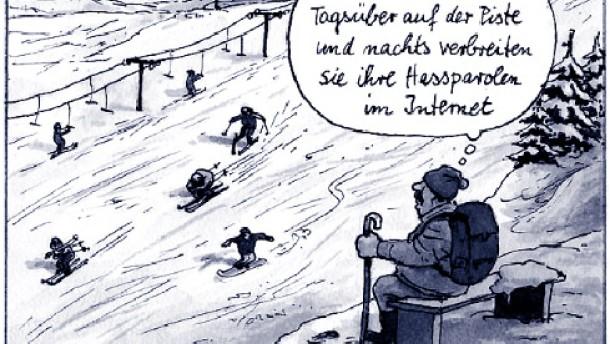"""""""Drohgebärde ohne Anschlagshinweise"""""""
