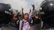 Frustration über Nepals Regierung wächst