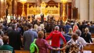 Gottesdienst in Gedenken an die Opfer von Nizza