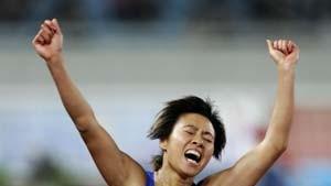 Tausende Liu Xiangs - alle sind gemacht für Gold