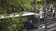 Tote und Verletzte bei Straßenbahnunfall