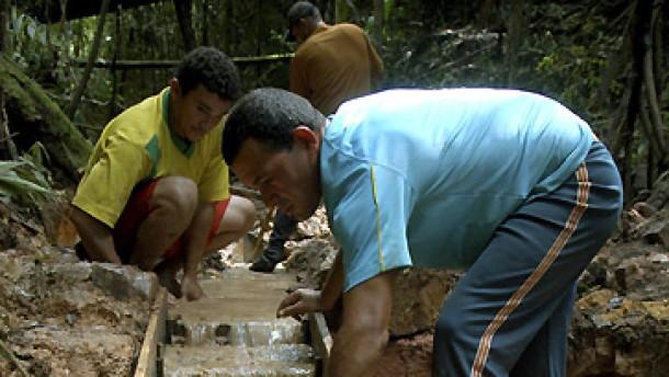 Unkontrollierter Goldrausch im Amazonasgebiet