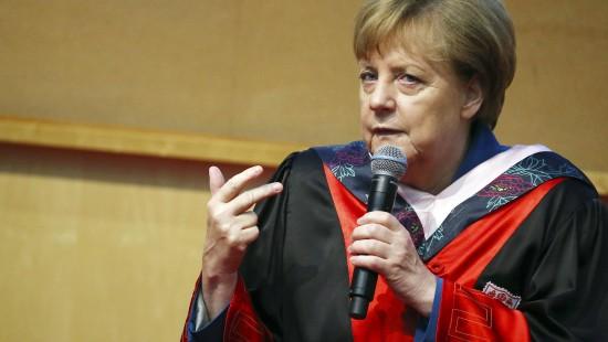 Merkel will Handelskrieg zwischen China und EU vermeiden