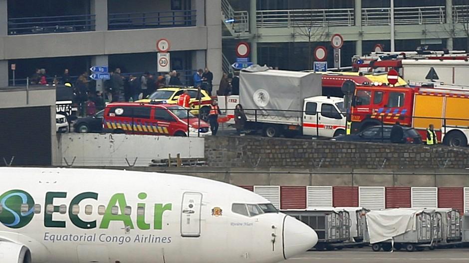 Explosionen am Brüsseler Flughafen
