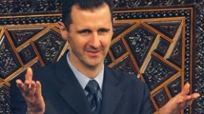 Syrian President Bashar alAssad addresses parliament in Damascus