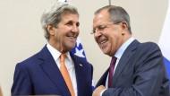 Russland und Amerika kommen Lösung für Syrien näher
