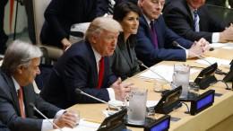 Was plant Trump mit den UN?