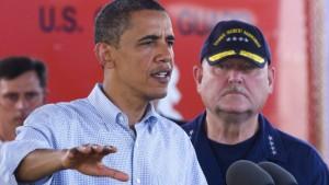 Obama optimistisch im Kampf gegen Ölpest