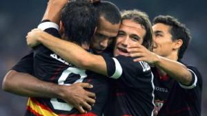 Sevilla holt letzten Champions-League-Platz