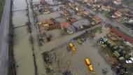 Überflutungen im ganzen Land