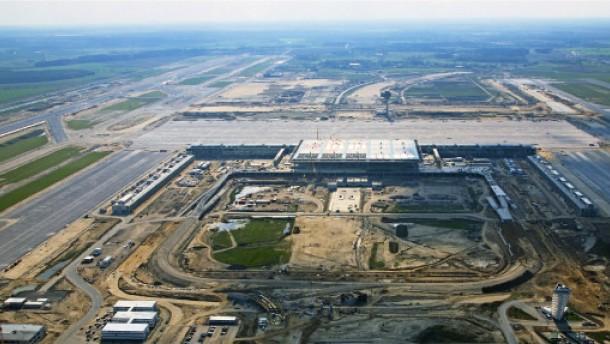Ein Flughafen, damit Berlin mal rauskommt