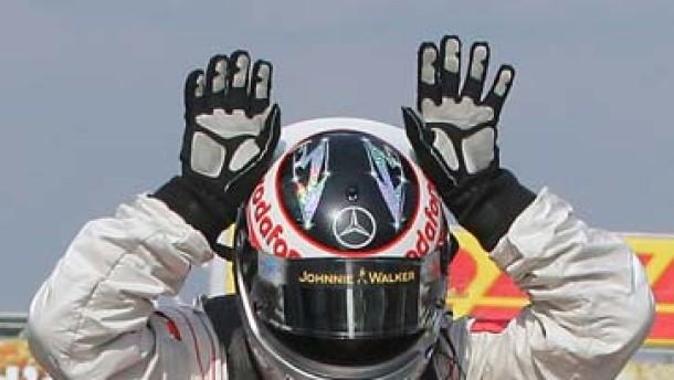Perfektes Sieger-Team, fehlerhafte Ferrari-Crew