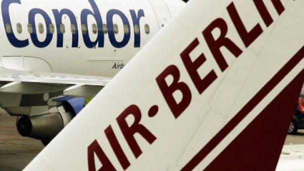 Condor-Verkauf an Air Berlin fraglich
