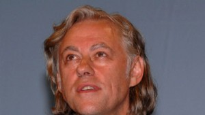 Bob Geldof als Schirmherr einer amazing night