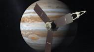 Nasa-Sonde Juno erreicht Jupiter