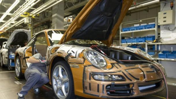 2100 Euro Sonderzahlung für Porsche-Mitarbeiter