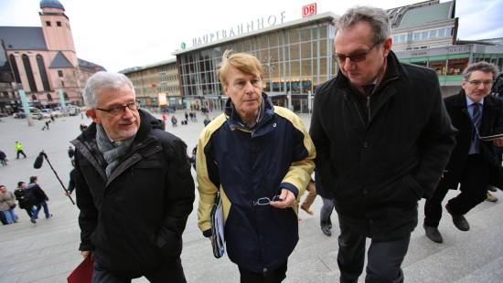 Parlamentarier auf Ortstermin in Köln