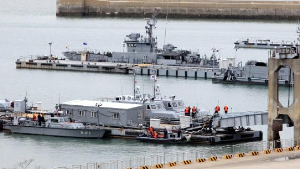 Kurzes Seegefecht zwischen Süd- und Nordkorea