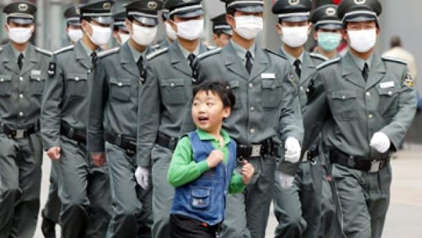 China nach wie vor Zentrum von SARS