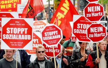 Hamburg: Auch hier sehen Gewerkschafter rot