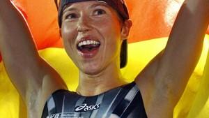 Heimsieg: Anja Dittmer gewinnt in Hamburg
